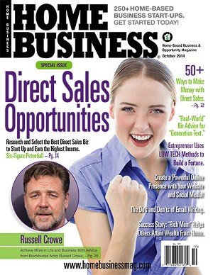 Mailing Lists of Subscribers to Home Business Magazine