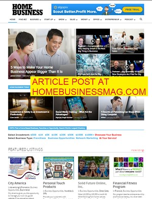 Article Post at Home Business!